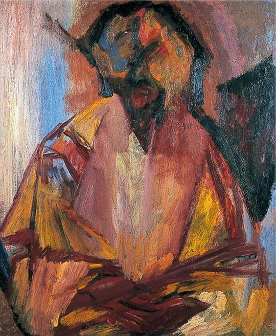 David Bomberg, Last Self-portrait 1956, Courtesy Lilian Bomberg