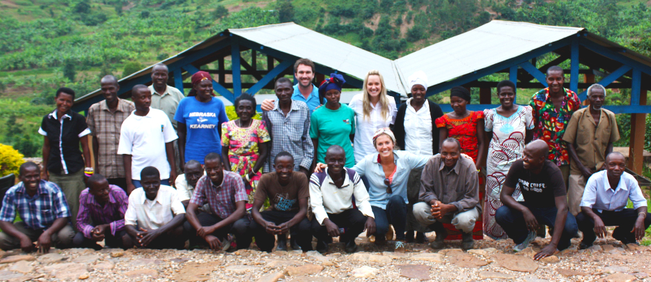 The first 20 farmers in our Rwandan program.