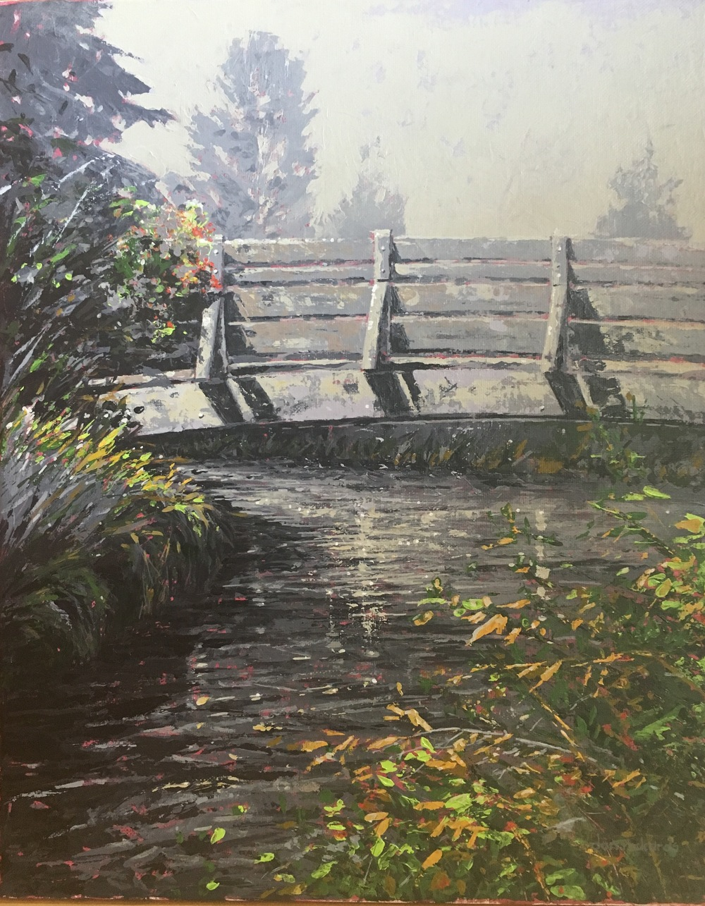 """Lake Creek Bridge"" by Dan Rickards"