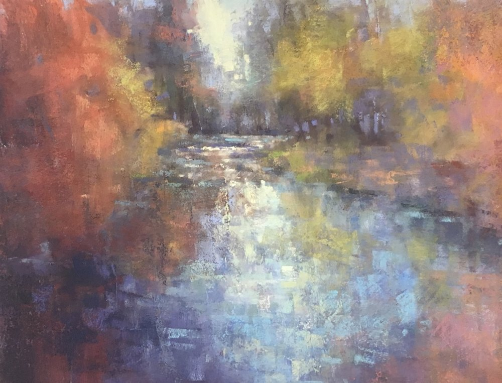 Autumn Dreams, 12x20 Pastel