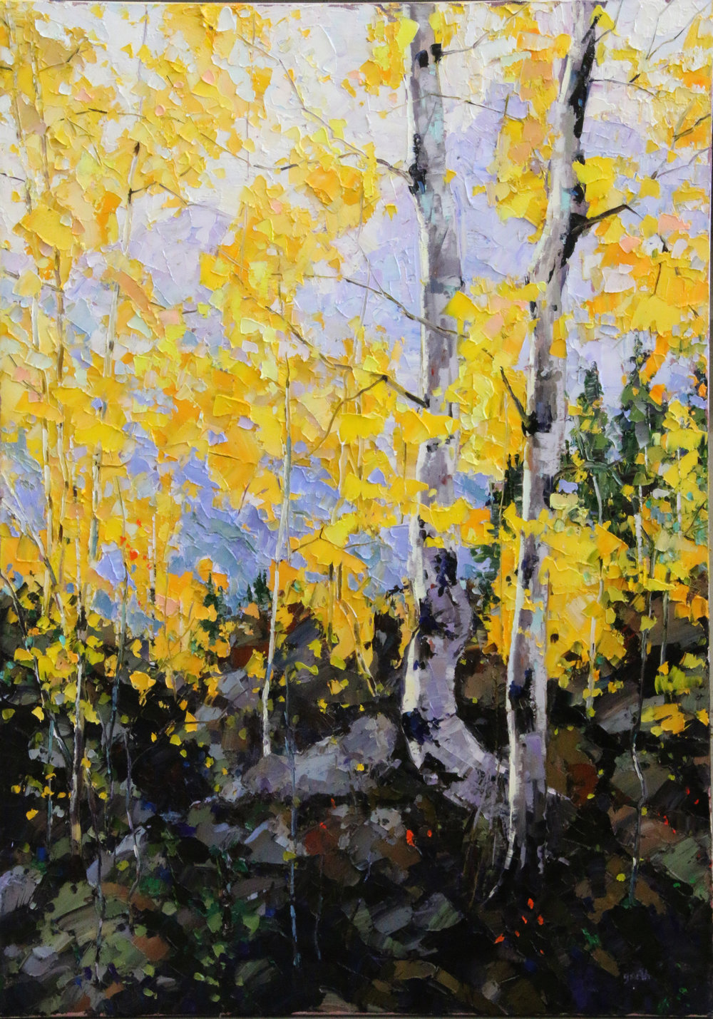 High Woods Glow, Oil, 30 x 40 $3,000
