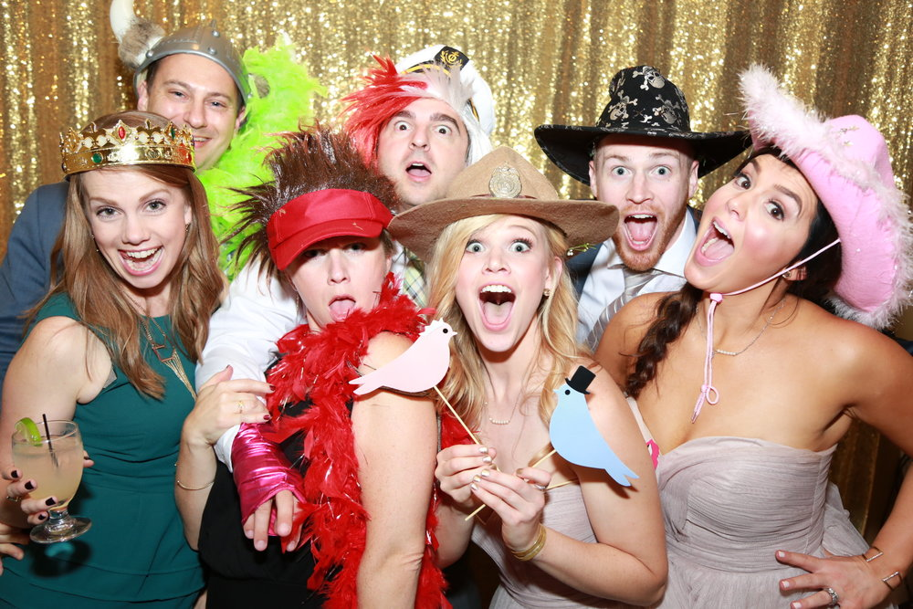 $599 Photo Booth - Text & Email yourself directly from the booth. Printing is a given. LED & Sequin color changing backdrops! Up to 5 hours!