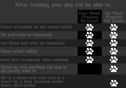 K9-fourvssix_week_training_chart.png