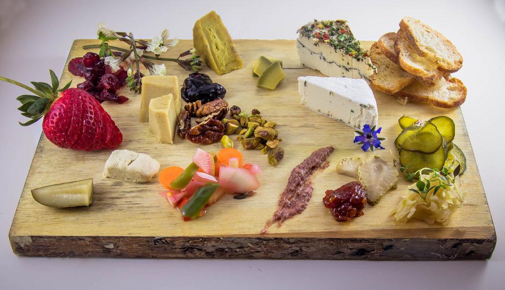 Hot Dish:Vegan Cheese Board at Masters - 9.1.18