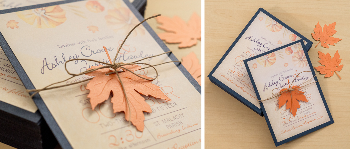 Invitation Design | Fall Wedding — Danielle McCain