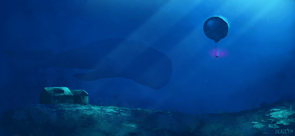 Initial underwater concept
