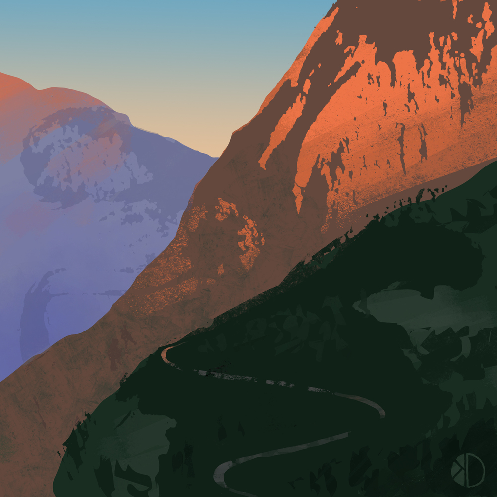 Week 11: Mountain Road (Final Color)