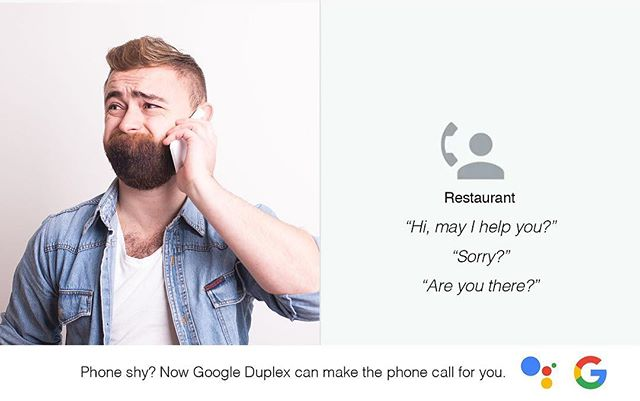 Google duplex #adaday