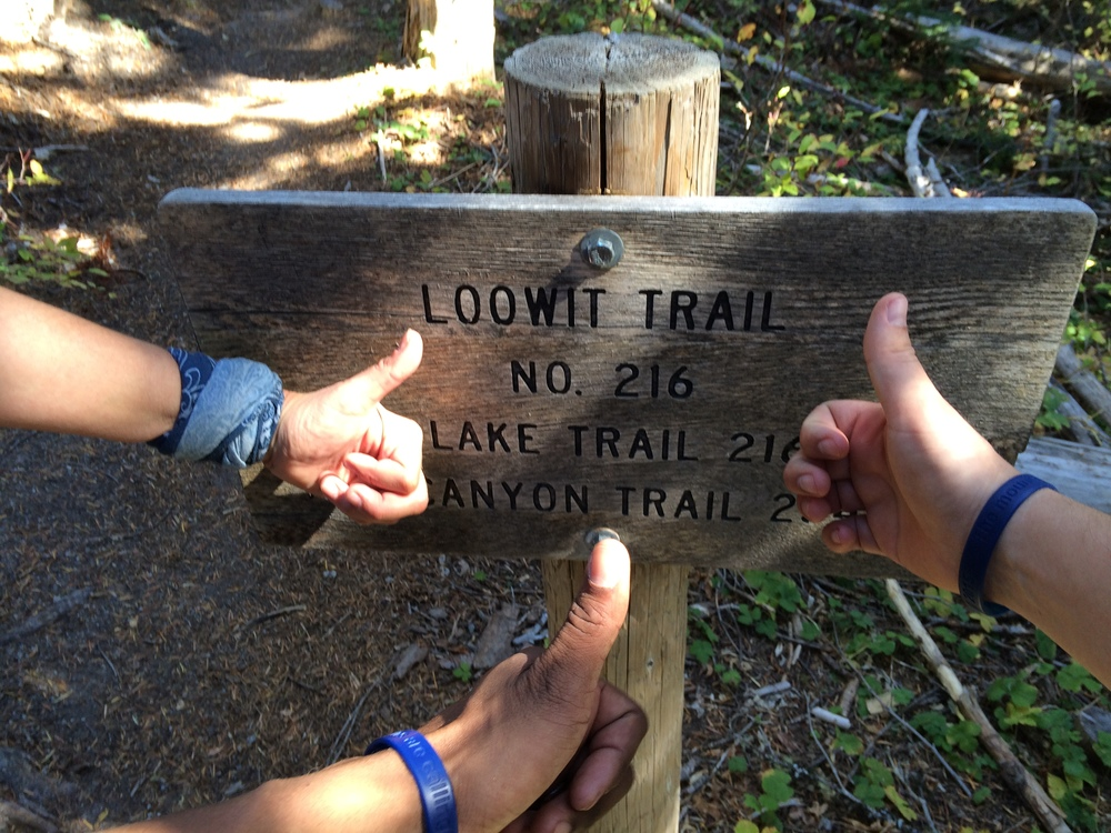 End of the Loowit Trail