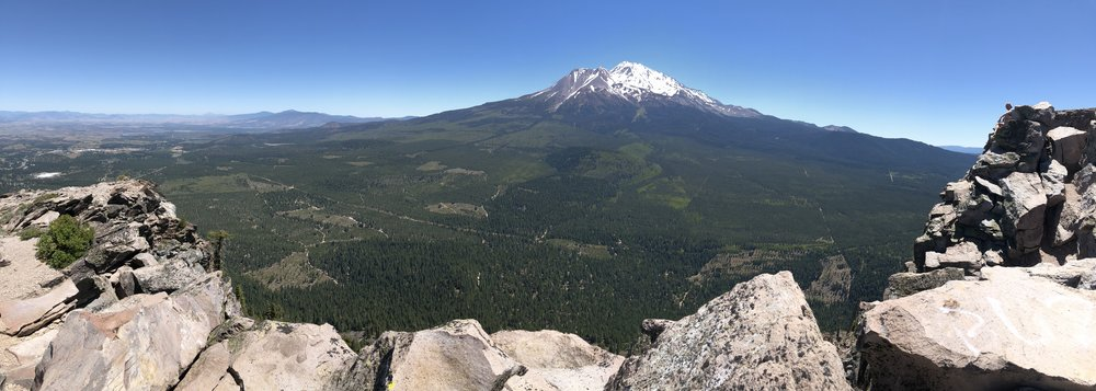 Black Butte summit view.