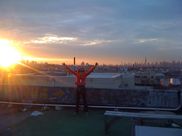 2014 - View from the rooftop, Brooklyn NYC