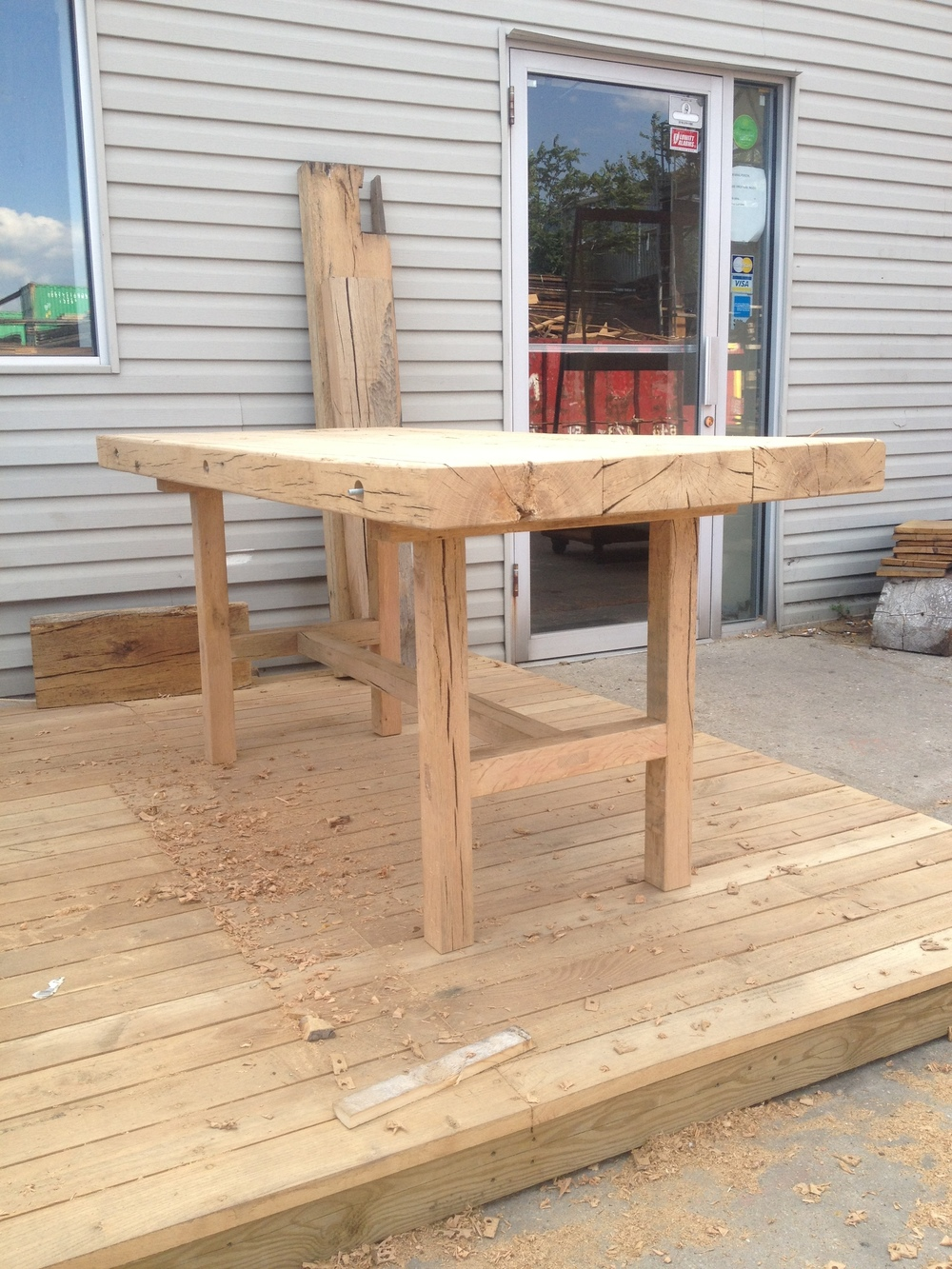 Reclaimed Oak Table, 2014