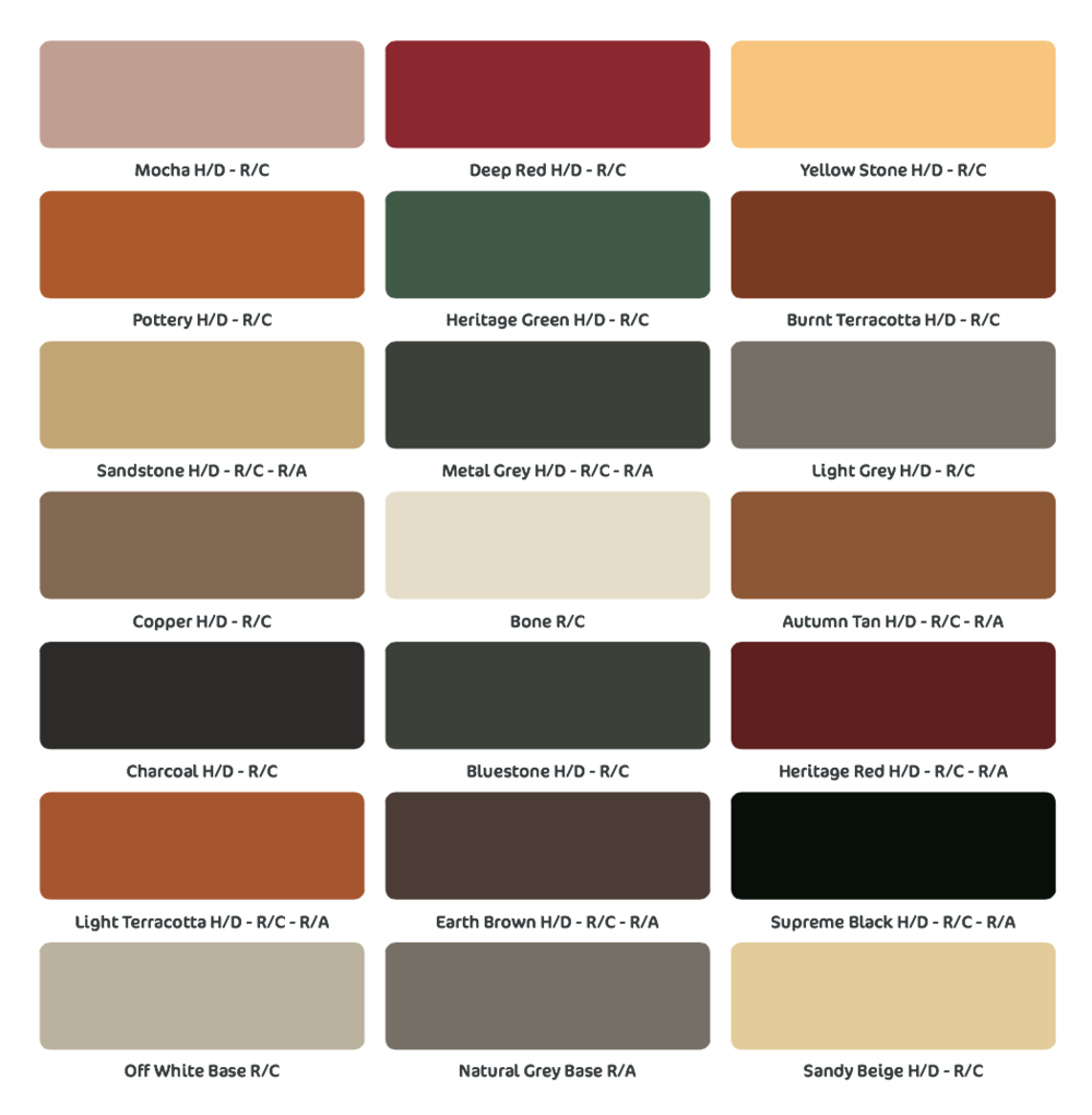 Concrete types indesign concreting landscaping the colours on the colour charts are as close as possible to the on site finished product variations may occur due to the nature of the product with geenschuldenfo Choice Image