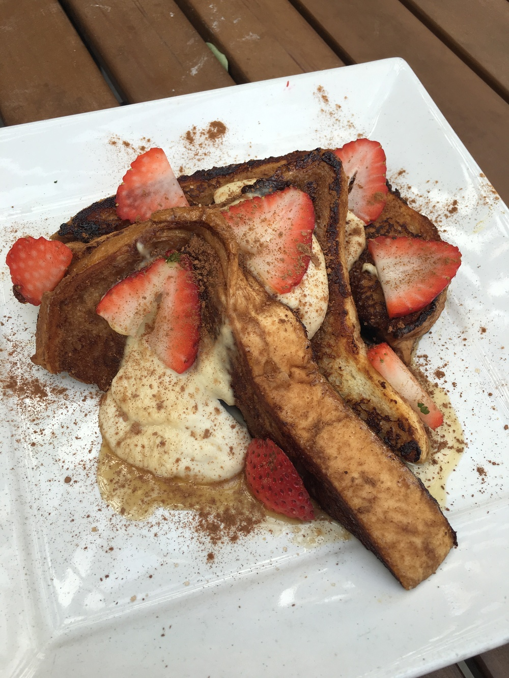 Lunch: Tiramisu French Toast