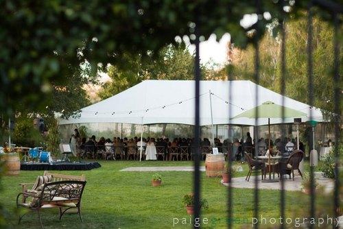 Tent in Main Garden