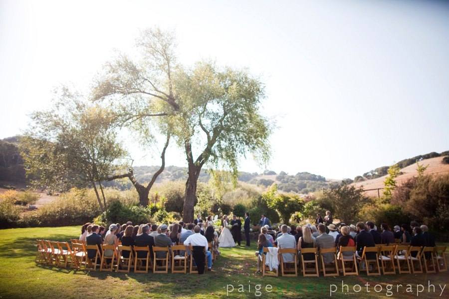 September ceremony at Milk House Garden