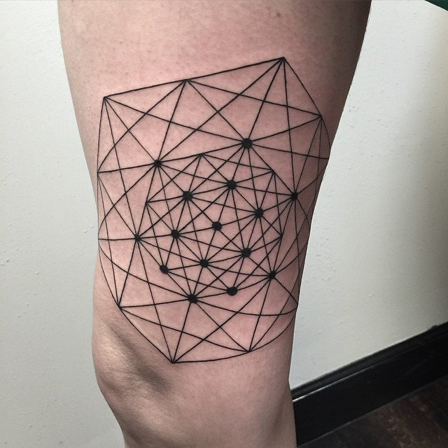 Geometric Tattoo by David Mushaney