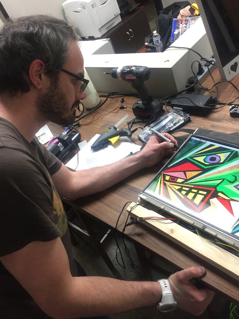Canvas Monitor