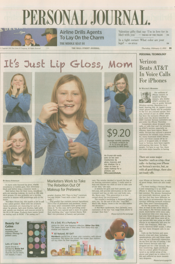 Wall Street Journal %22Geo Girl%22 pg. 1.png