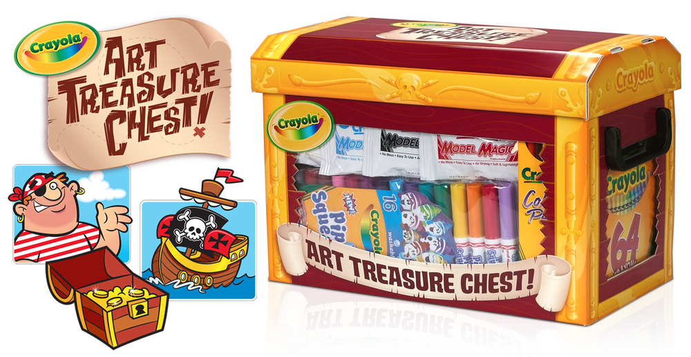 Art Treasure Chest