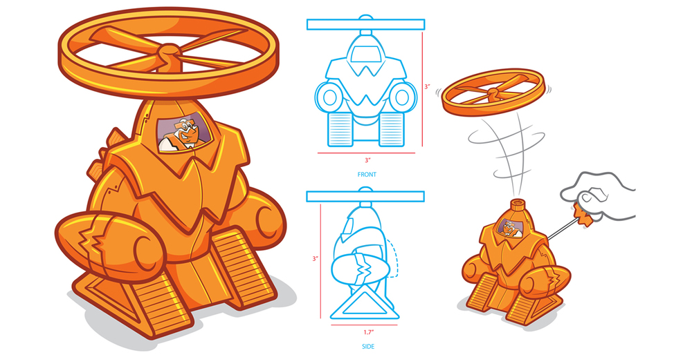 Kids Meal Toy Design