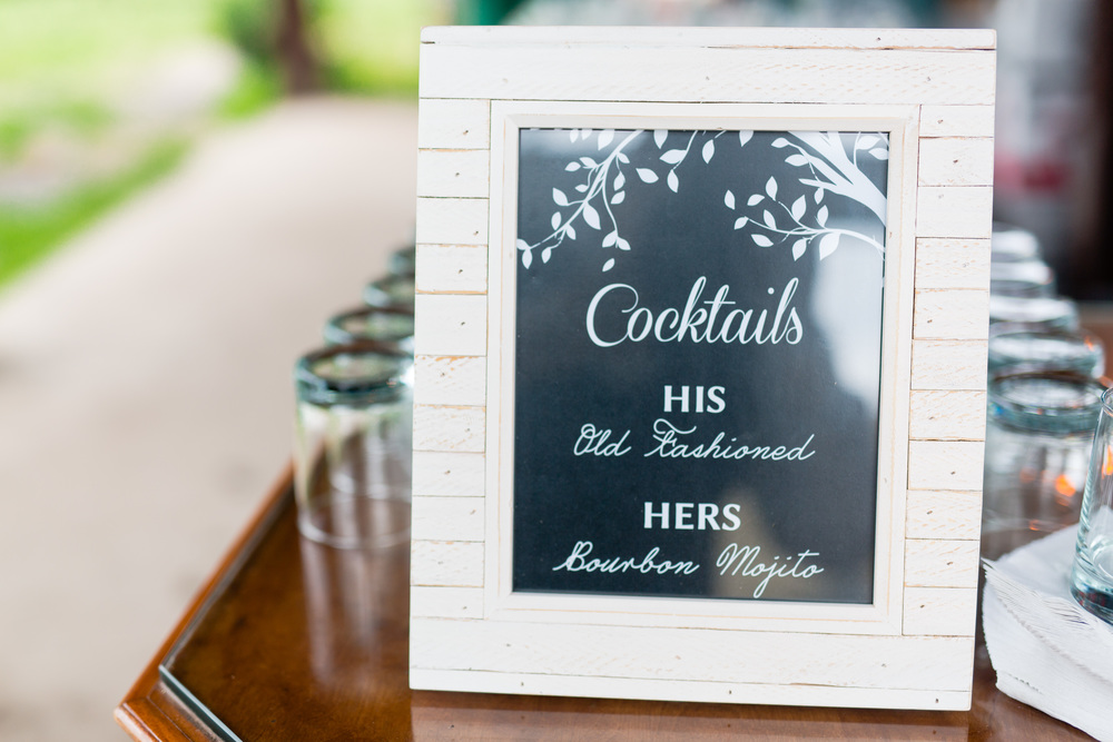 nate & sarah | reception signs   courtesy of: casey fatchett photography