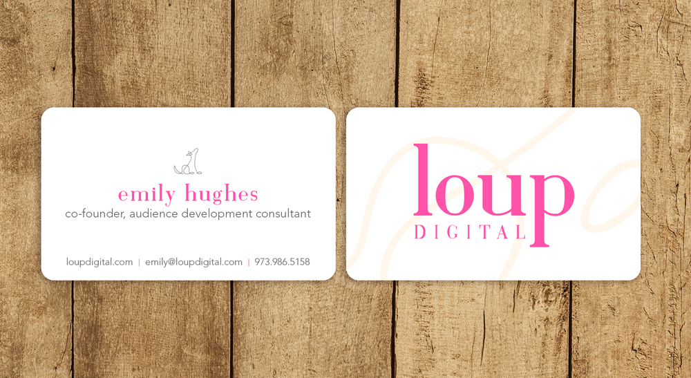 loup digital  |  business cards