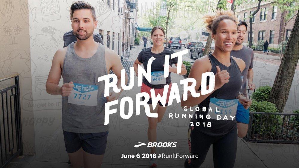 "Brooks ""Run It Forward"" Campaign"