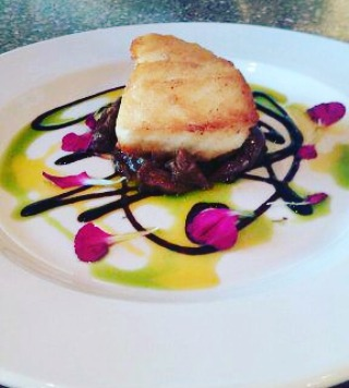 Our Fall Wine Dinner is tomorrow night! You can't get this exquisite Chilean Sea Bass with Braised Oxtail if you don't book it! Call meow! #toscanodraper #italianfood #fallwinedinner #chileanseabass #braisedoxtail #wine #pairedwines #fallwinedinner #slc #draper #sandy #reservations #brangelinawine #gelato #chefjonathan #christianandmarcus #hospitality #comejoinus #dontwait #howmuchistoomuch