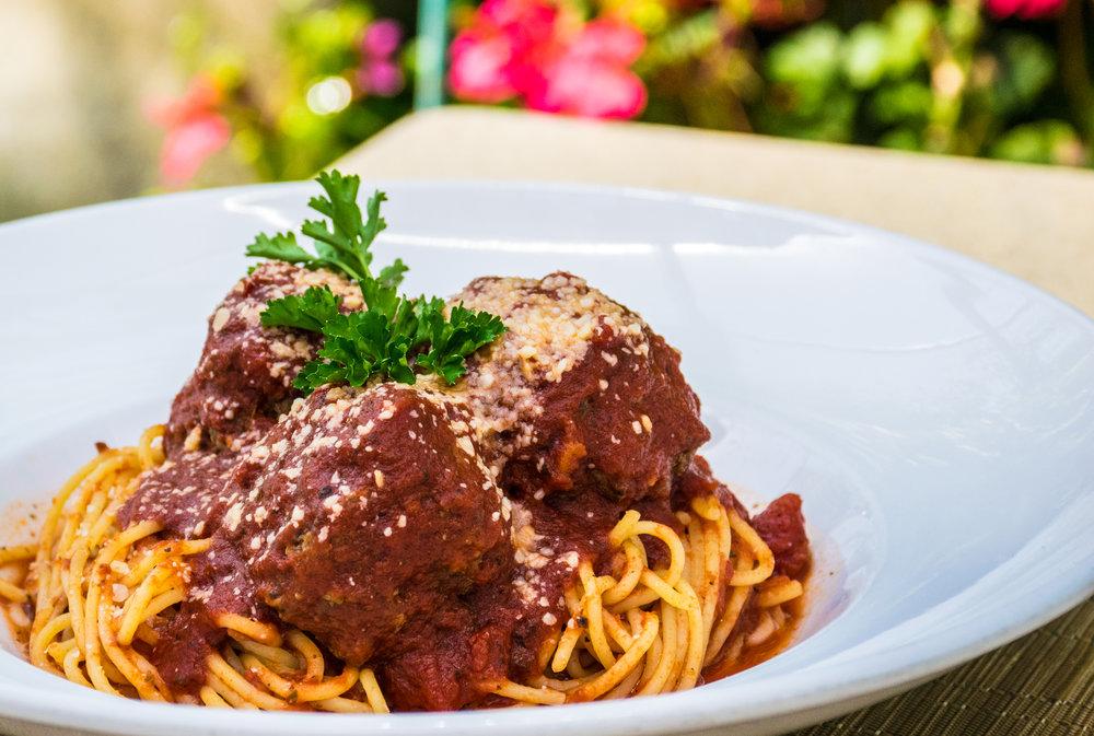 Toscano Spaghetti & Meatballs