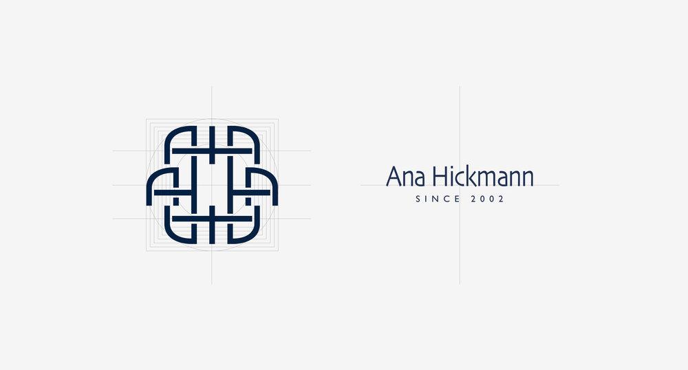 Ana Hickmann Logo Grid