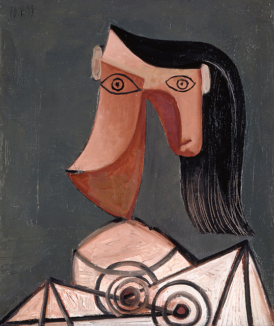 Pablo Picasso.  Head of a Woman , 1939