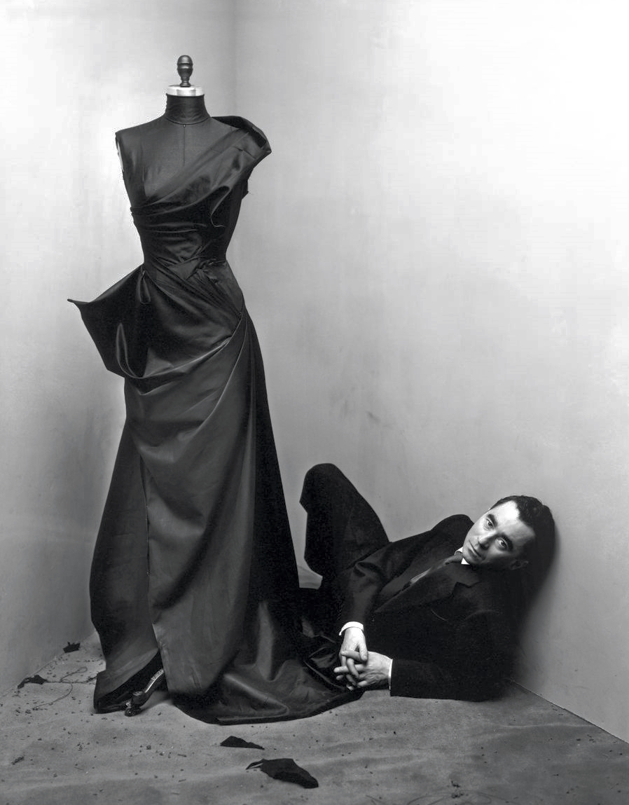 Irving Penn.  Charles James, New York , 1948