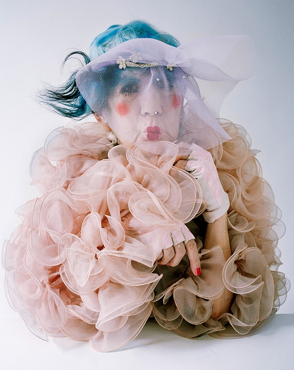Tim Walker (for  W Magazine ).  Anna Piaggi , 2012