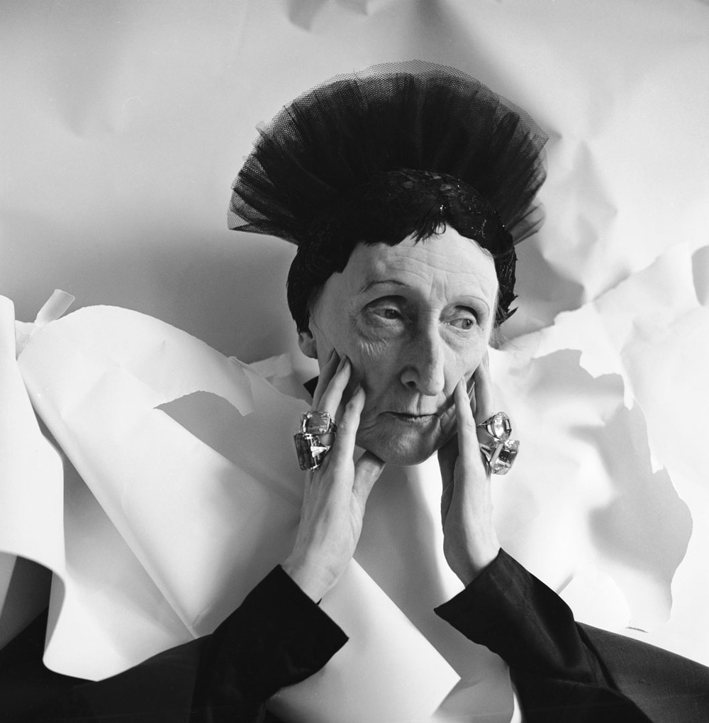 Cecil Beaton.  Portrait of Edith Sitwell , 1962