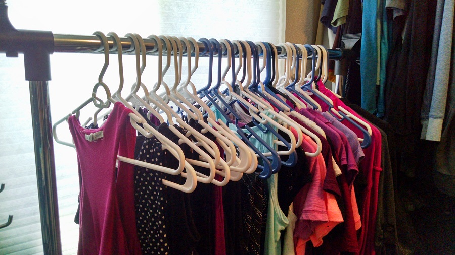 One Remedy Is To Add A Portable Garment Rack. Theyu0027re Affordable, Easy To  Put Together And They Add Invaluable Extra Hanging Space To Your Closet.