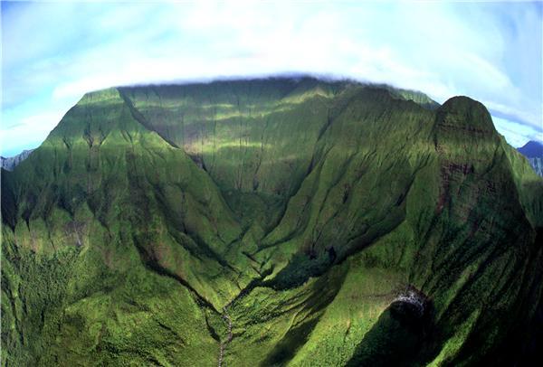 Mt, Waialeale, central Kauai