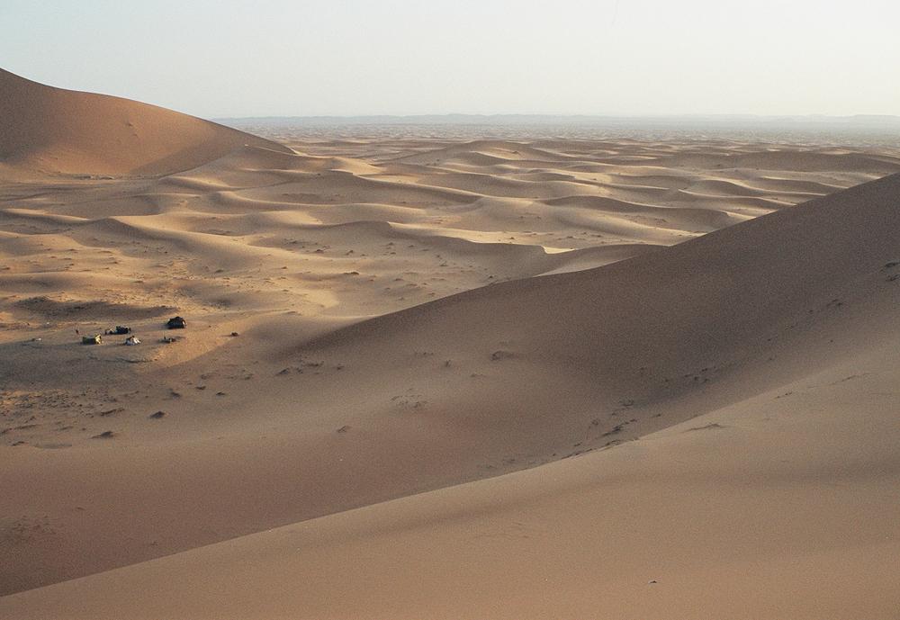 Erg Chebbi, Merzouga, Morocco (my photo)