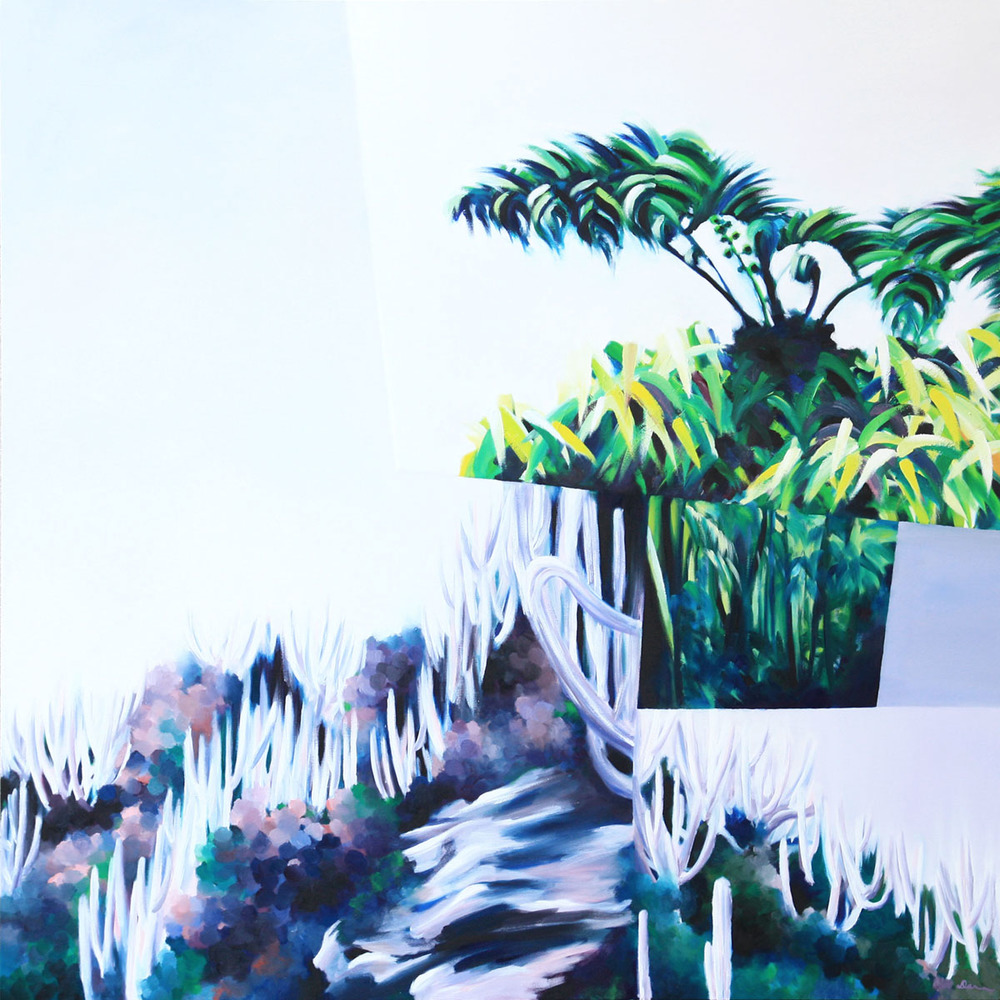 island-ecotone-desert-cloud forest-tree fern-cacti-brazil-hawaii-kauai-buzios-oil painting-landscape-abstract-rainforest-peru-tambopata