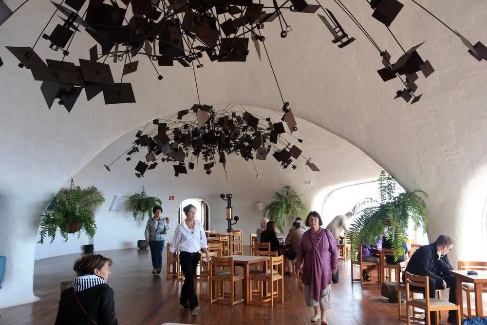 Restaurant, El Mirador del Rio (my photo)