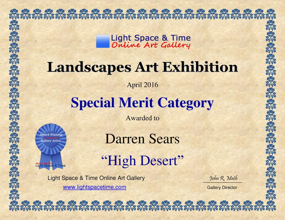 light space time online gallery-landscape art exhibition
