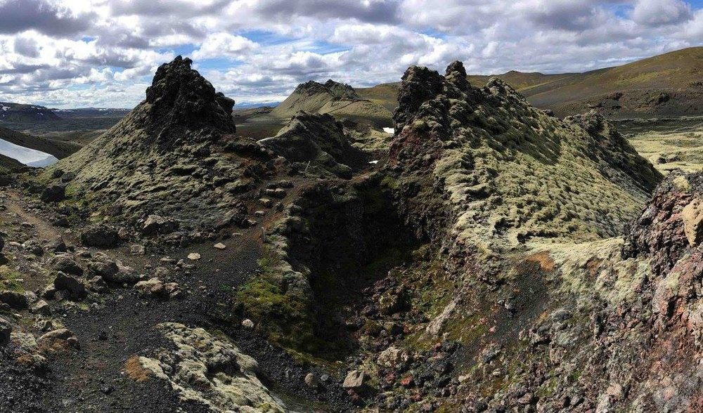 Laki Crater Row, Iceland (my photo)