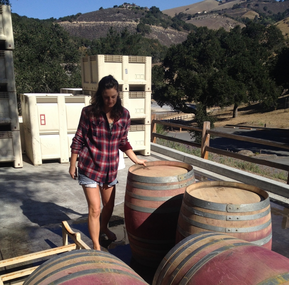 Emily Hunt's first foray into the industry was an invitation to harvest La Grein grapes during a summer abroad in Bozen, Italy.