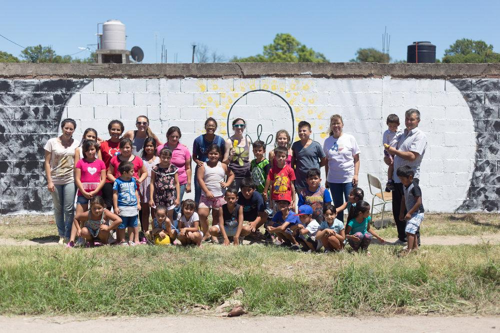 El viaje misionero a las afueras de Córdoba capital en enero 2017