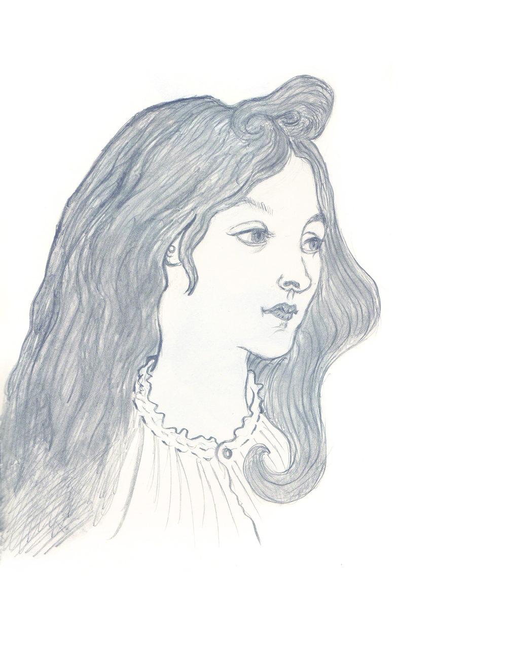 a sketch a day 2016 francine fanali