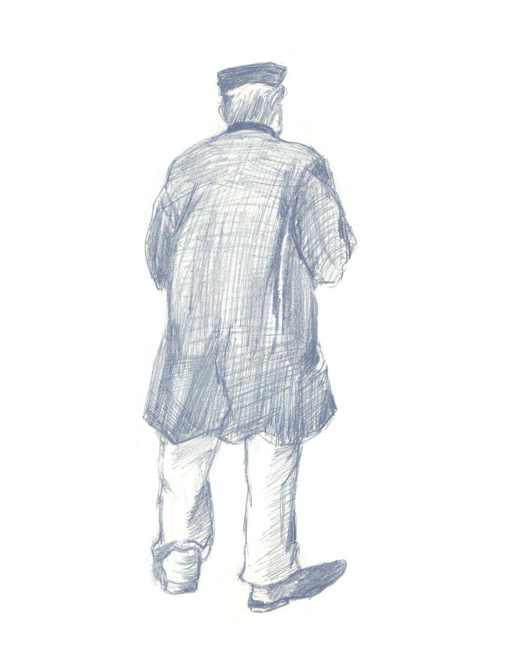 Van Gogh - Man with Cap
