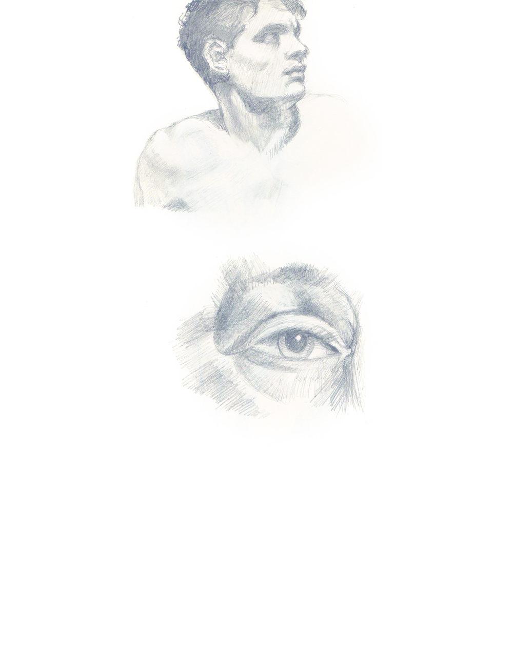 Male And Eye