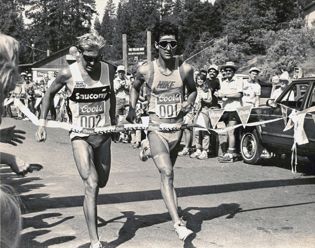 SCOTT TINLEY & SCOTT MOLINA, 1985 BASS LAKE TRIATHLON SITE OF THE 1983-84 USTS NATIONAL CHAMPIONSHIPS 1983-84 TRI-FED (USAT) NATIONAL CHAMPIONSHIPS