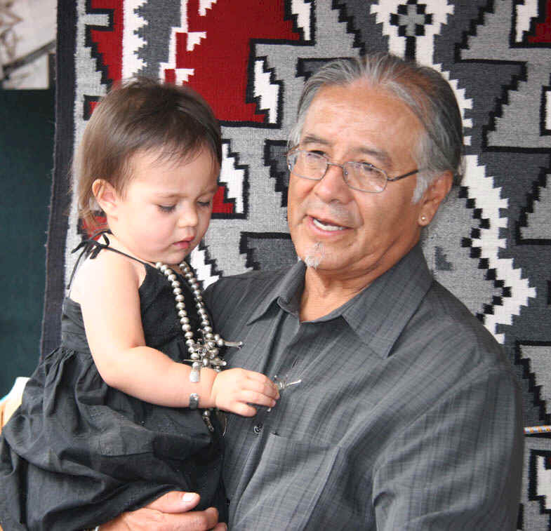 Cippy, 2008, with granddaughter, Mikaela Rose - 2 y.o.