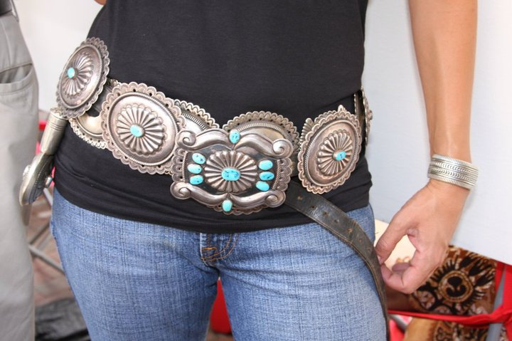 """Vintage JHQ Belt (with CZH belt)"""